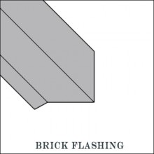 Aluminum Brick Flashing