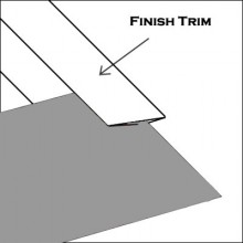 Aluminum Finish trim