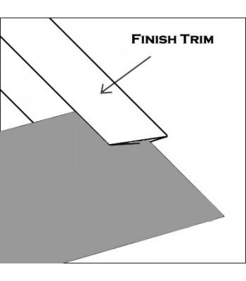 Aluminum Finish trim