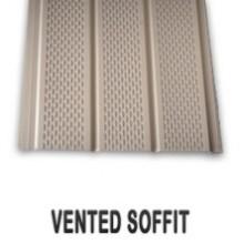 Aluminum Soffit Vented
