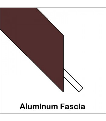 Aluminum Fascia With Return