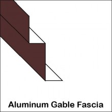 Aluminum Gable Fascia