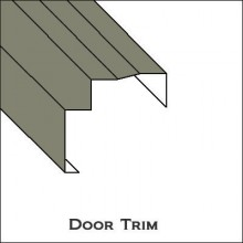 Door Trim with lip