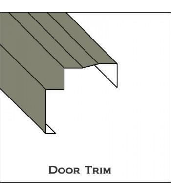 Aluminum Door Trim with lip