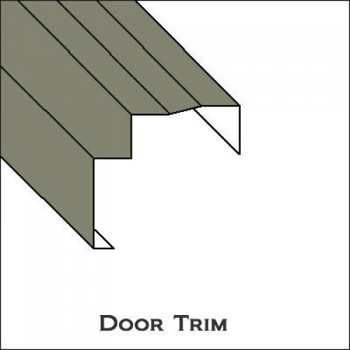 Aluminum Door Trim with lip ...