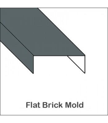 Aluminum Flat Brick Mold