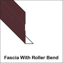 Aluminum Fascia With Roller Bend
