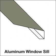 Aluminum Window Sill With Return