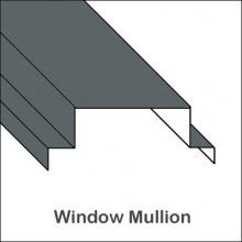 Aluminum Window Mullion