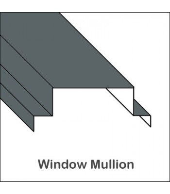 Aluminum Window Mullion