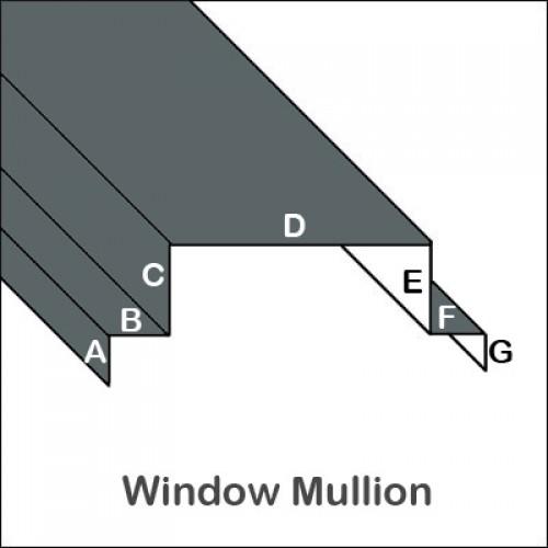 Aluminum Window Mullion Trim Bender