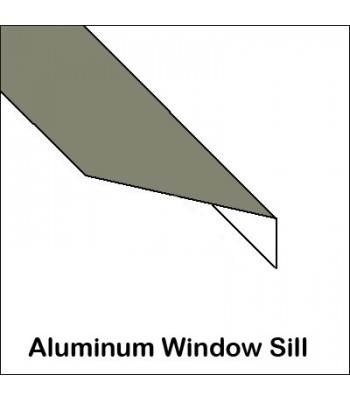 Aluminum Window Sill Without Return