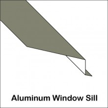 Window Sill With Brick Flashing