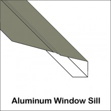 Aluminum Window Sill With Ridge