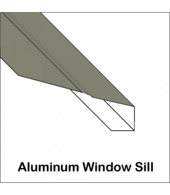 Aluminum window sill trim custom bent in 14 colors | Trim Bender on exterior adjustable threshold parts, exterior wall covers, exterior pvc window sills, aluminum threshold covers, exterior corner cover, exterior wood window sills, acrylic window covers, exterior concrete window sills, rotten window covers, baseboard return covers,