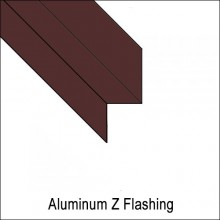 Aluminum Z Flashing