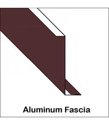 Aluminum Fascia With Roof Edge Hemmed