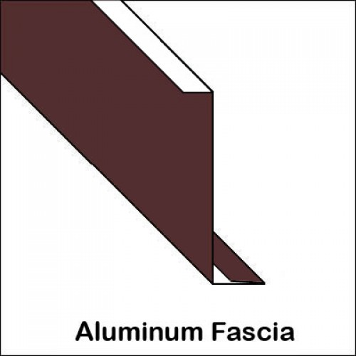 Aluminum Fascia With Roof Edge Hemmed Trim Bender