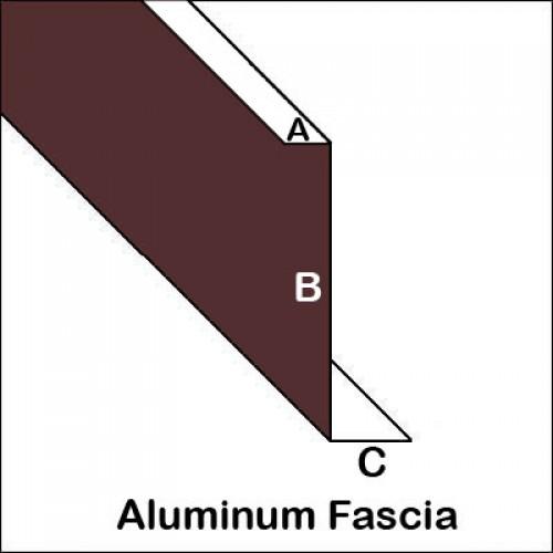 Aluminum Fascia With Roof Edge Trim Bender