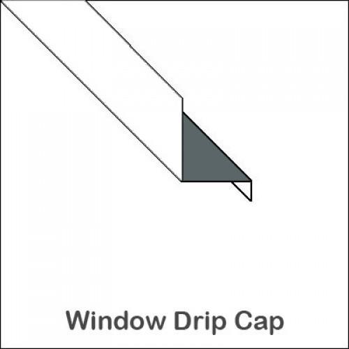 Custom Aluminum Drip Cap Trim Bender