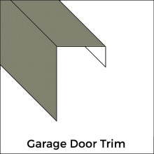 Standard Garage Door Trim