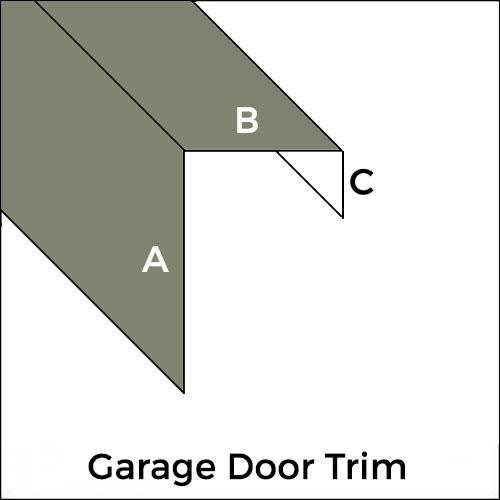 Standard Aluminum Garage Door Trim Trim Bender