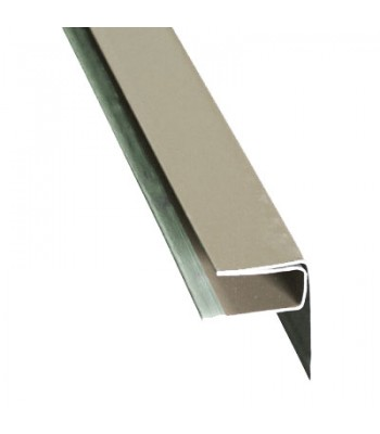 Aluminum Soffit F-Channel
