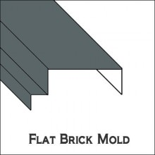 Flat Brick Mold with Full Blind Stop