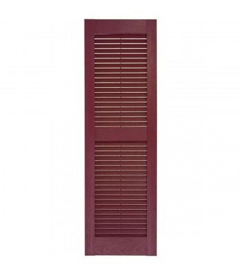 Custom Vinyl Louvered Shutter