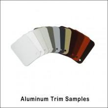 Aluminum Trim Color Samples