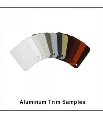 Aluminum Trim Color Samples