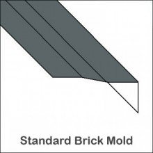 Aluminum Brick Mold Without Return