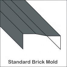Aluminum Brick Mold Trim