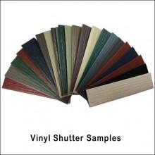 Vinyl Shutter Color Samples Trim Bender