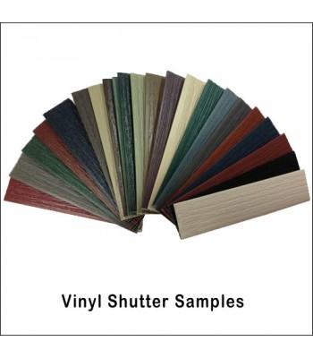 Vinyl Shutter Color Samples